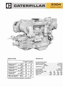 Cat 3304 And 3306 Engine Specs  Bolt Torques  Manuals