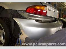 BMW Z3 Rear Bumper Replacement 19962002 Pelican Parts