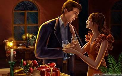 Romantic Dinner Wallpapers Crazy Wife Couple Frankenstein