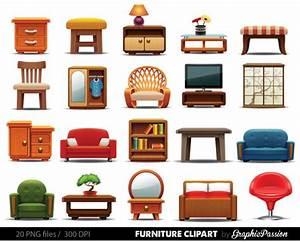 Furniture clipart ,Clipart Furniture, Home decor clipart