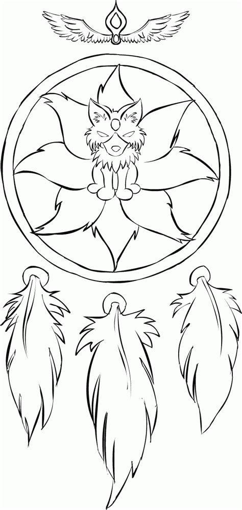 14 Pics of Tumblr Dream Catcher Coloring Pages - Dream