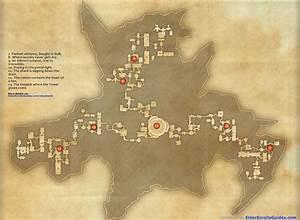 Imperial City Sewers Skyshards Map Elder Scrolls Online