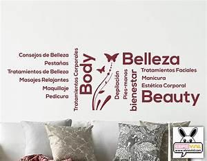 Vinilo decorativo para Centros de Belleza y Estética 05168 Tienda online de vinilos