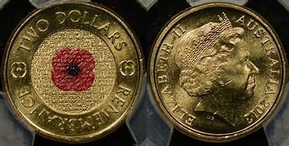 Coins Australian Poppy Dollar Coin Australia Rare