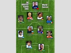 23 best images about WORLD XI The Best Eleven Players of