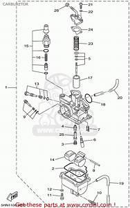 Yamaha Yfz 450 Carburetor Diagram