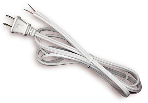 National Artcraft Lamp Cord With Molded Plug