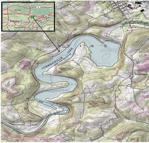 Pa Fish And Boat Commission Lakes by Pfbc 2009 Biologist Report Curwensville Lake