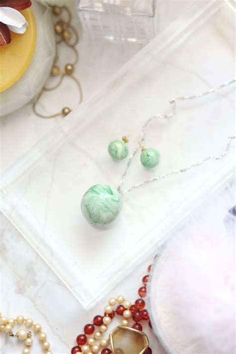 bathroom ideas for small spaces on a budget diy marble jade earrings and pendant necklace a
