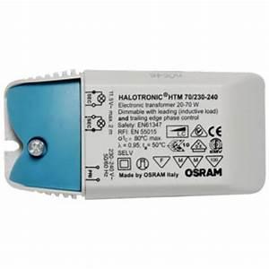 Halogen Trafo 12v 150w : osram halotronic halogen trafo 70va 105va u 150va ~ Watch28wear.com Haus und Dekorationen