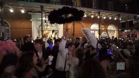 New Orleans Second Line New Orleans Wedding Youtube