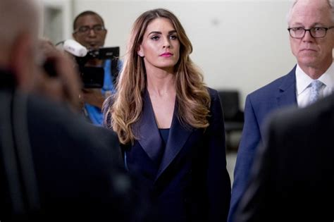 Democrats interview former longtime Trump aide Hope Hicks ...