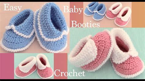 zapatitos a Crochet para bebes tejido paso a paso
