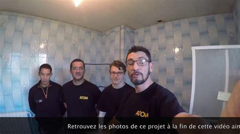 Rénovation De Salle De Bain Réalisée Par La Société Atom
