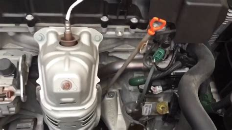 accord  cyl cvt transmission fluid change