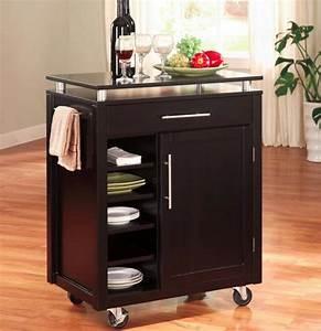 Meuble Ilot Cuisine : ilot roulette meuble cuisine accueil design et mobilier ~ Teatrodelosmanantiales.com Idées de Décoration