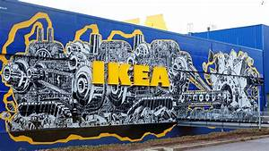 Ikea Möbel Einrichtungshaus Berlin Tempelhof : street art wie razorfish eine berliner ikea filiale in ein graffiti paradies verwandelt ~ Bigdaddyawards.com Haus und Dekorationen