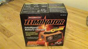 Motomaster Eliminator Intelligent Battery Charger 11