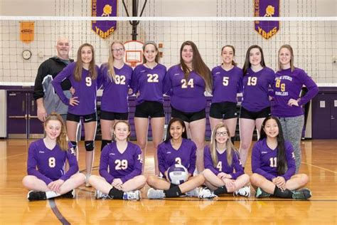 boiling springs high school girls junior high varsity volleyball spring