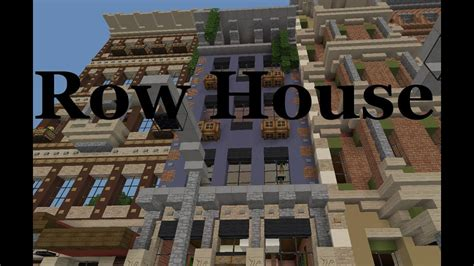 minecraft showcase victorian row houses youtube