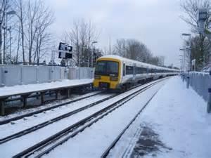 Dartford Train Leaving Welling Station Marathon