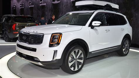 2020 Kia Telluride Mpg by 2020 Kia Telluride At Up To 23 Mpg Combined Carscoops