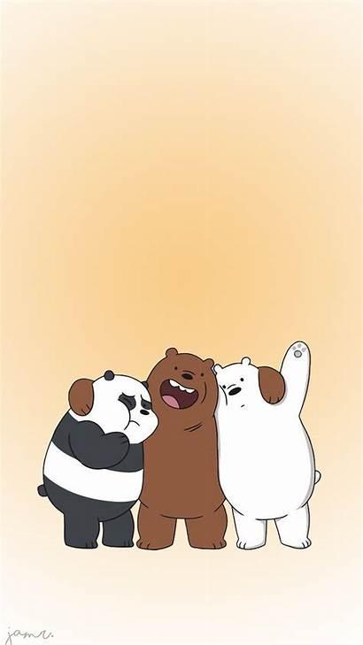 Bears Bare Bear Wallpapers Panda Iphone Gambar