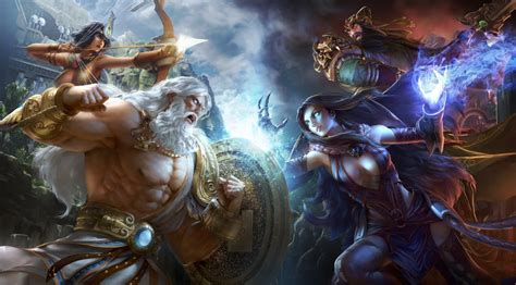Live: By Zeus' Beard! Watch Us Play SMITE on PS4 - Push Square