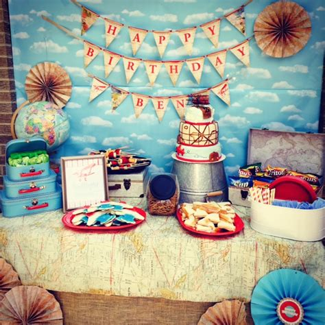 airplanetravel birthday party project nursery