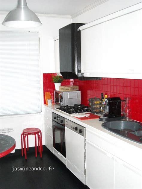 cuisine en noir et blanc déco cuisine noir blanc