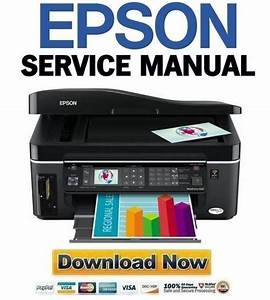 Epson Workforce 600 Service Manual  U0026 Repair Guide