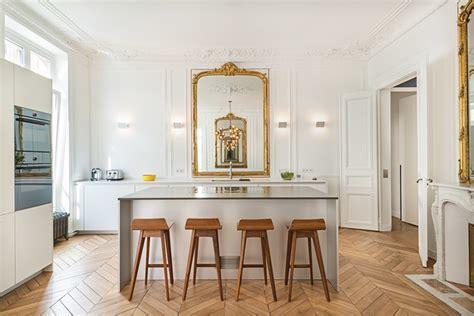 cuisine appartement parisien appartement parisien cuisine classique traditional