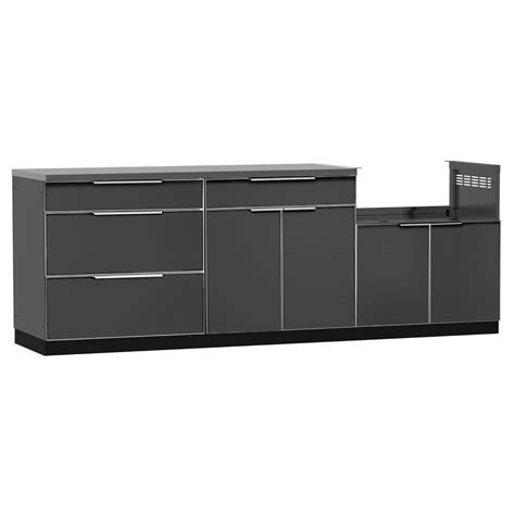 slate floor kitchens newage products aluminum slate 4 97x36x24 in 2299