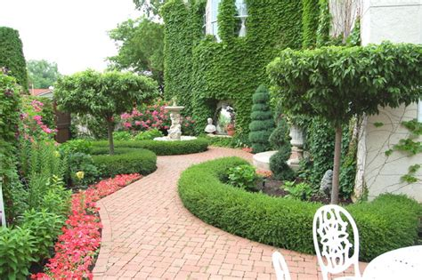 Italian Villa Design Traditional Landscape