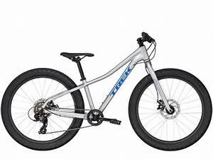 Trek Roscoe 24 2020  Silver  From Manual Bikes