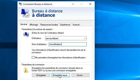 comment r 233 soudre le probl 232 me du bureau 224 distance windows qui n ouvre pas sur le bon 233 cran