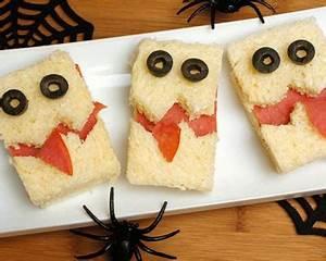 Recette Apéro Halloween : recette mini sandwichs barjos d halloween au saumon fum facile rapide ~ Melissatoandfro.com Idées de Décoration