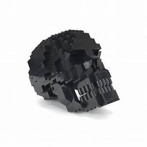 Human Skull Building Set - Moc Nation