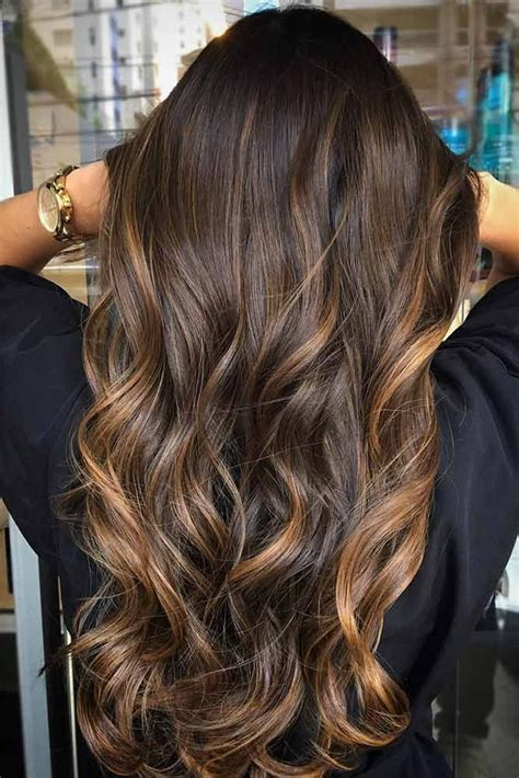 55 Highlighted Hair For Brunettes Beauty Balayage Hair