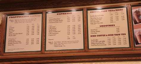 Before we get into the starbucks secret menu, you might be surprised (and no doubt delighted) to know that there but you'll have beaten the system. The Disneyland Traveler Blog: Starbuck's Beverage Pricing in DCA