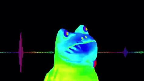 The Rainbow Frog Dance Techno on Make a GIF