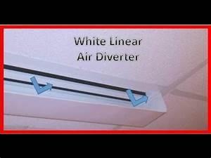 Item   4875 White Linear Air Diverter