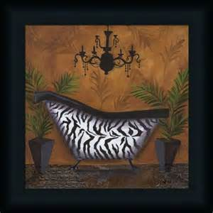 zazzling zebra print bathroom decor xpressionportal