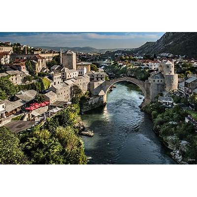 Stari Most (Mostar Bosnia herzegovina) by Domingo Leiva
