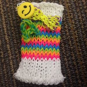 DIY rainbow loom phone case   rainbow loom   Pinterest ...
