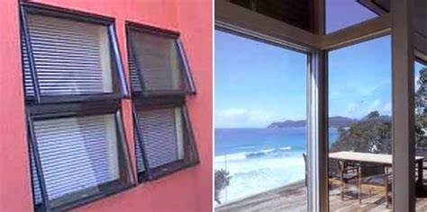 awning bi fold  clearvent sashless windows  superior windows