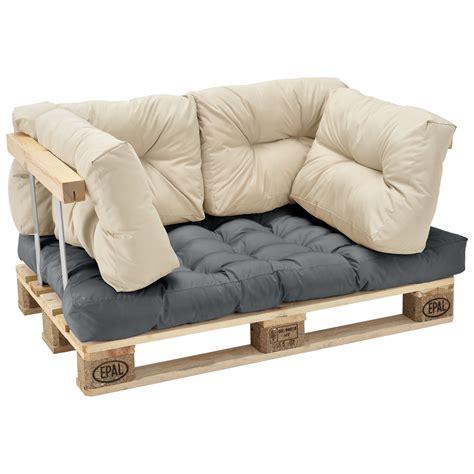 siege en palette en casa coussins de palette en extérieur canapé