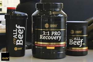 100  All Beef Y 3 1 Pro Recovery De Crown Sport Nutrition