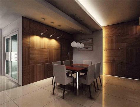 Dining Ceiling Design by Modern Dining Interior Design In Malaysia