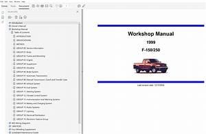 1999 Ford F150 Repair Manual